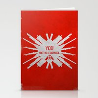 Resistance 3 - You are the resistance. Stationery Cards