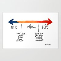 The Grilled Cheese Conti… Art Print