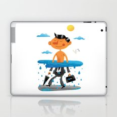 Walk on the Bright Side Laptop & iPad Skin
