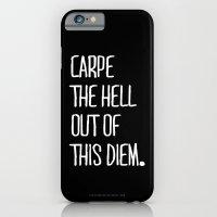 Carpe Diem ///www.pencil… iPhone 6 Slim Case