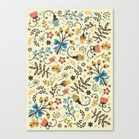 Floral Bloom Canvas Print