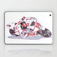 Ballpoint Pen, 58, Marco Simoncelli Laptop & iPad Skin
