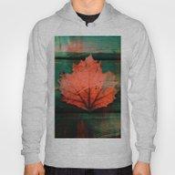 Rusty Red Dried Fall Lea… Hoody