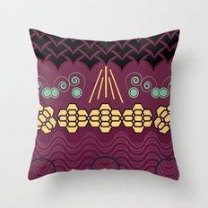 HARMONY pattern Alt 2 Throw Pillow