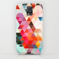Galaxy S5 Cases featuring Heavy words 01. by Three of the Possessed