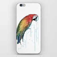 Polly In The City iPhone & iPod Skin