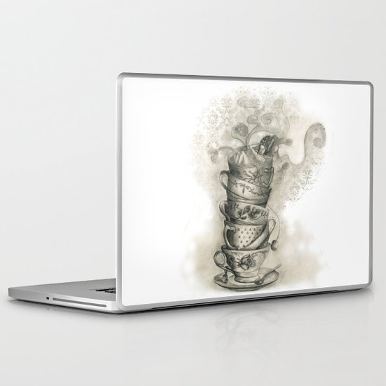 Tea bath Laptop & iPad Skin