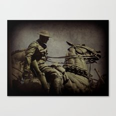 the cavalry Canvas Print