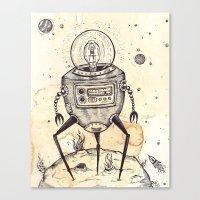 Big Bot Canvas Print