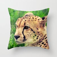 these beautiful eyes Throw Pillow