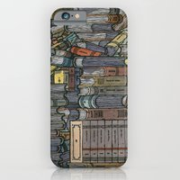iPhone & iPod Case featuring Closed Books by Miguel Herranz
