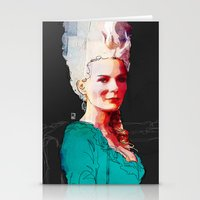 Kirsten Dunst As Marie A… Stationery Cards