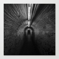P Tunnel Canvas Print
