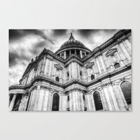 St Paul's Cathedral Lond… Canvas Print
