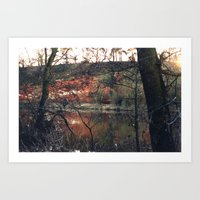 Red Rocks Near Stourport… Art Print