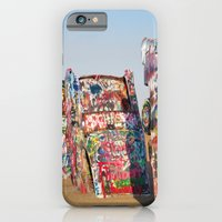 Amarillo Cadillac Ranch #5 iPhone 6 Slim Case