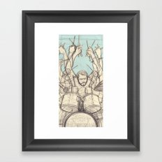 GABE. Framed Art Print