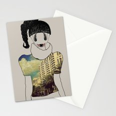 greetings and kisses from Miami Stationery Cards