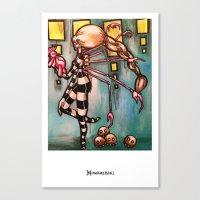Non-robotic Canvas Print