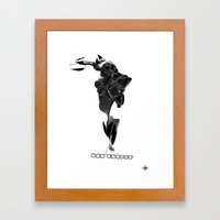 off'course Framed Art Print