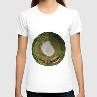Planet Womens Fitted Tee White SMALL