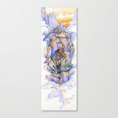 Shaolin Scorpion Monk Canvas Print