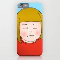 iPhone & iPod Case featuring Nope by Caz Haggar