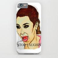 Kim ugly crying iPhone 6 Slim Case