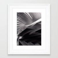 Paper Sculpture #7 Framed Art Print