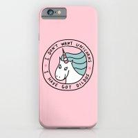 I don't want unicorns iPhone 6 Slim Case