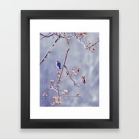 A Bluebird For Isabelle Framed Art Print