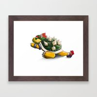 G'Bye Bowser! Framed Art Print
