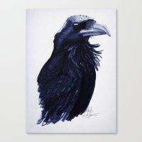.Raven Canvas Print