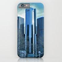 Detroit Renaissance Center (Ren Cen) GM Headquarters iPhone 6 Slim Case