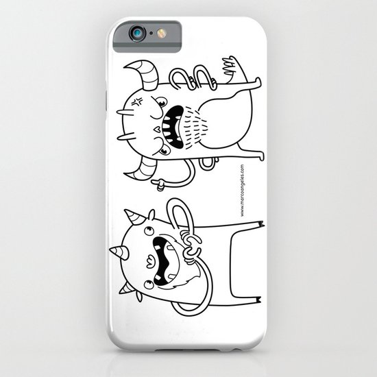 Monster Dialogues iPhone & iPod Case