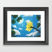 Things Are Looking Up Ga… Framed Art Print