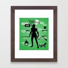 Dragon Age - Fenris Framed Art Print
