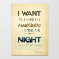 Air Of The Night Canvas Print
