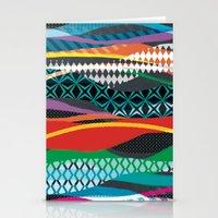 Wave Blaze Stationery Cards