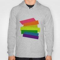 Retro Rainbow  Hoody