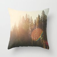 Super Flare Throw Pillow