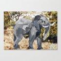 Elephant! Canvas Print
