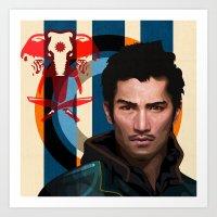 Far Cry 4 - Ajay Ghale Art Print