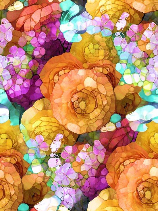 Rainbow Colors Art Print