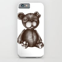 iPhone & iPod Case featuring Teddy  by Agata Duda