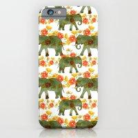 Wading Elephants iPhone 6 Slim Case