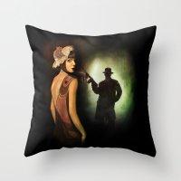The Roaring Twenties Throw Pillow