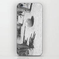 Cacti - in Black & White iPhone & iPod Skin