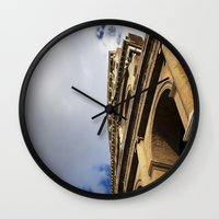 Tides Of Time And Men Wall Clock