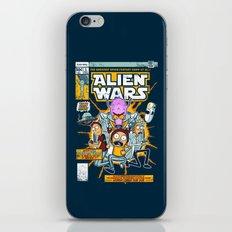 Alien Wars iPhone & iPod Skin